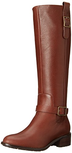 Cole Haan Women's Kenmare Tall Riding Boot, Harvest Brown, 8.5 B US