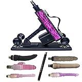 Víbrátórs Women Víbrátór Passion gift Retractable Machine ŝe-x Attachments pùmping Gun Thrusting Speed Adjustable toys Women Gel Víbrátórs Women