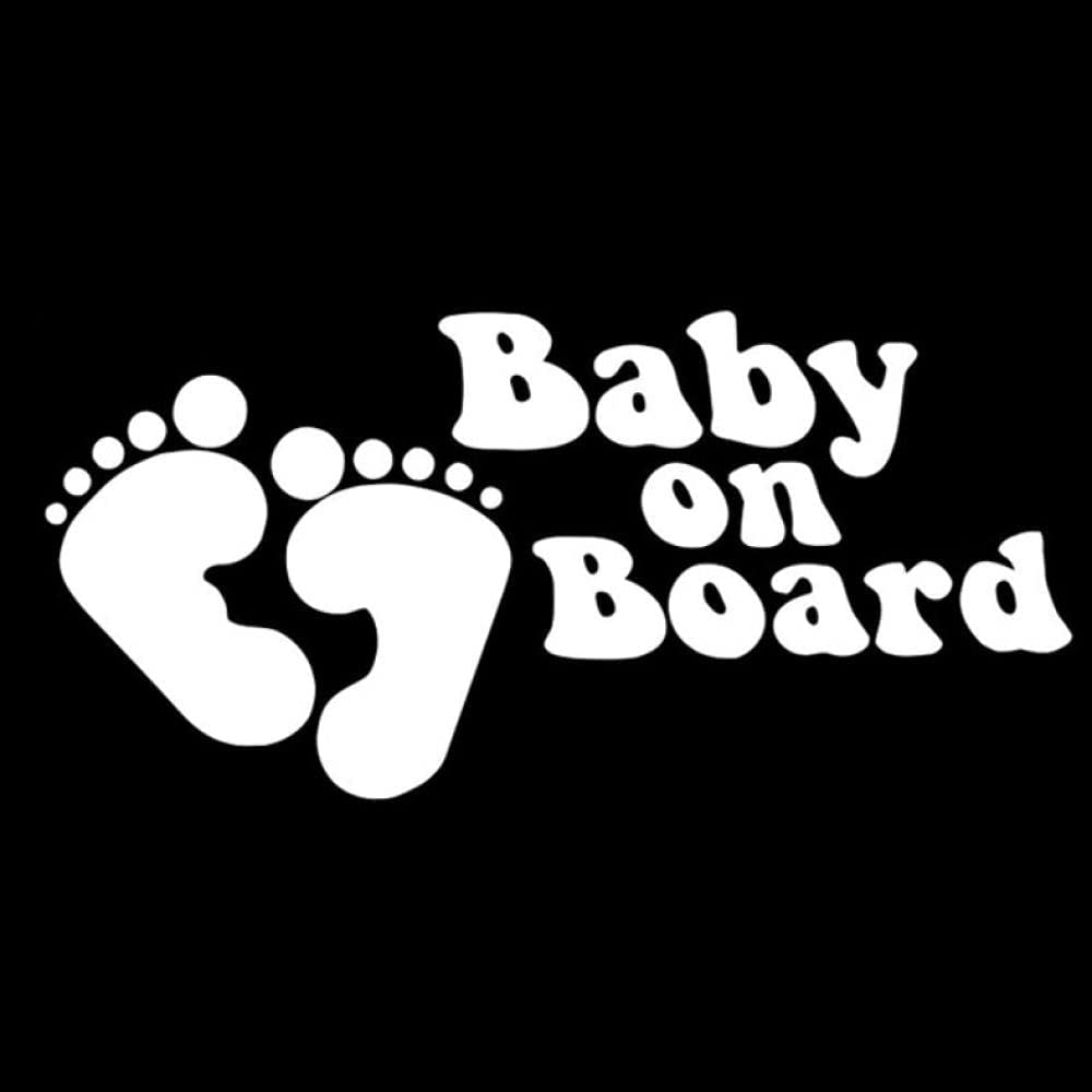 Car Stickers and Decals 15.2cm7.2cm Baby On NEW before selling ☆ In stock Board Self-Adhesive