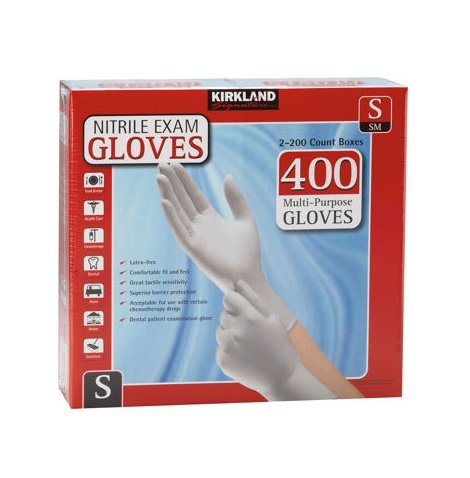Affordable Kirkland Signature Nitrile Exam Gloves 400ct
