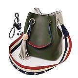 DEERWORD Mujer Shoppers y bolsos de hombro Bolsos bandolera Carteras de mano y clutches Verde V2