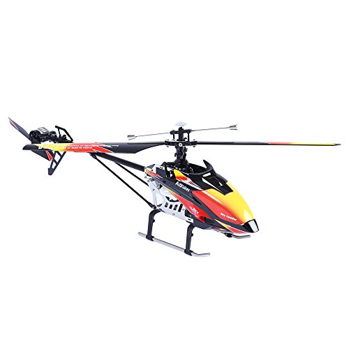 Red and Black Cool Wltoys V913 Large Alloy 70cm 2.4G 4CH RC Remote Control Helicopter with Gyro
