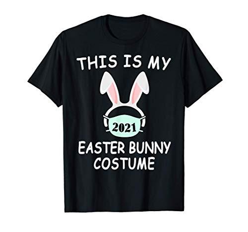 Felices Pascuas Conejo De Pascua Mascara Huevos Camiseta