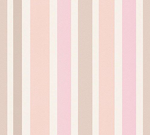 Esprit Kids Vliestapete Sweet Butterfly Tapete Kindertapete 10,05 m x 0,53 m beige rosa weiß Made in Germany 302881 30288-1