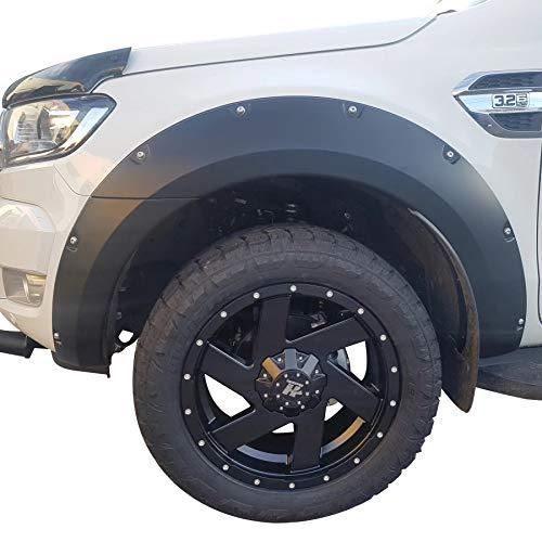 Radkästen Kotflügelverbreiterungen für Ford Ranger 2016-2020 Wildtrak T7 T8 MK2 MK3 Doppelkabinentasche...
