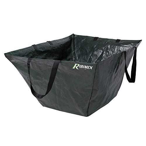 Ribimex 07994 Sacco Carrello con 4 manici, 300 L, Colore Verde