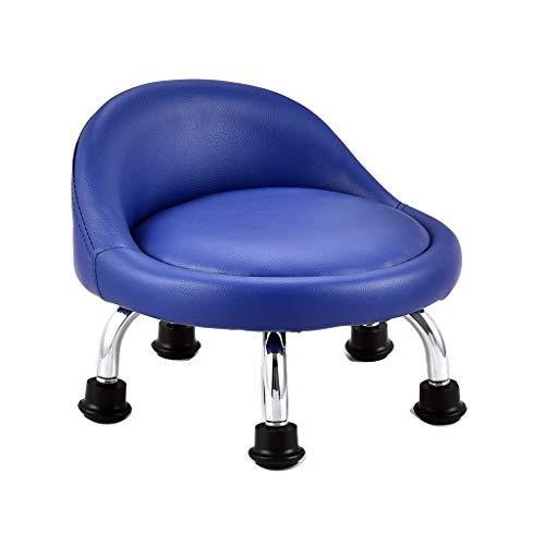 QFdd Siège De Petite Chaise De Salle De Bain Antidérapant, Maison Bureau Jardin d'enfants Banc Bas Ne Raye Pas Le Sol 33 * 20cm