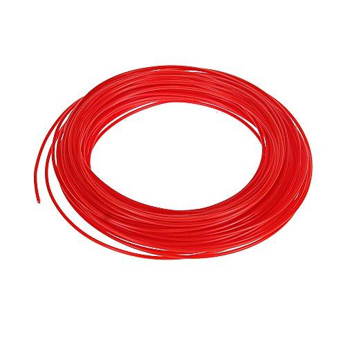 Foxpic ABS filamento (50G) Sample per penna 3d 1,75mm Diametro 5m di lunghezza, Rot