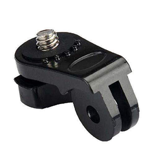 Formulatud 1 PC Schraube Stativ Mount Adapter Sport Kamera für Gopro Hero 2 3 3+ für Sony Action Cam AS15 AS30 AS100V AEE Zubehör - Schwarz