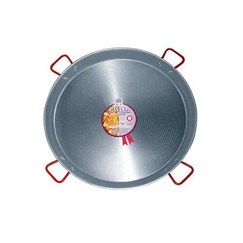 La Ideal Paella Pfanne Stahl emailliert, schwarz, 100cm