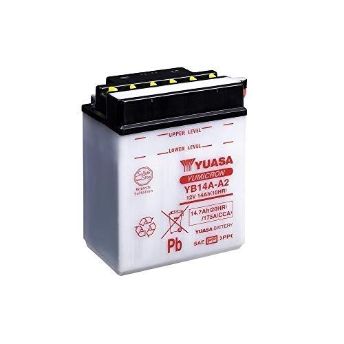 petit un compact Batterie moto YUASA YB14A-A2