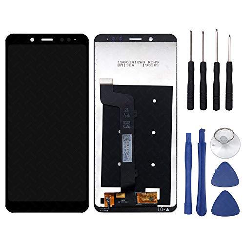 FTDLCD® 5,9 Zoll LCD Touch Screen Digitizer Scheibe Ersatz Display Einheit Bildschirm Assembly Reparatur für Xiaomi Redmi Note 5 / Note 5 Pro + Werkzeug (Schwarz)