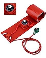 Oil Drum, kachel Belt DIY Oil Drum Silicone Verwarming Belt siliconenrubber Heater Oil Gas,1740 * 125 1000w knob
