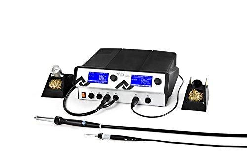 Ersa i-CON VARIO 4 Mehrkanal-Löt und Entlötstation 500 W 230 V mit i-Tool AIR S, antistatisch, 0ICV4000AI