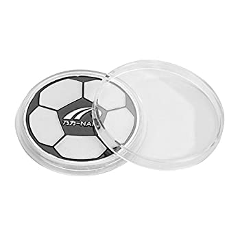 VGEBY1 Soccer Toss Coins Alloy Soccer Referee Flip Judge Coin for Match Picking Side with Case