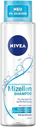 Nivea Mizellen Shampoo für trockenes Haar, ohne Silikon, 400 ml