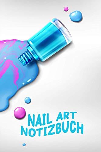 Nail art Notizbuch | Nagellack ausgelaufen | perfekt für deine Nageldesigns | erstelle neue Nägel | halte wichtige Details fest | Notizheft | ... | Nagelstudio | Nagellack | Journal