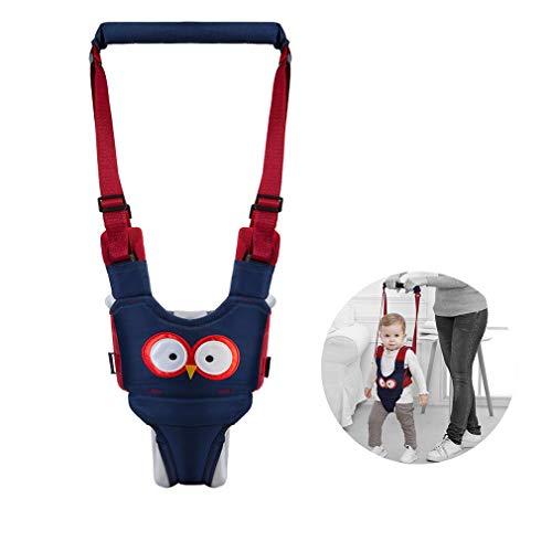 Baby Walking Harness Adjustable Detachable Baby Walker Assistant Protective Belt for Kids Infant Toddlers (Blue)