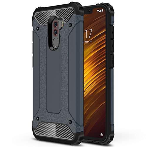 Capa protetora J&H Xiaomi Pocophone F1 Armour, capa rígida Xiaomi Pocophone F1, capa híbrida de camada dupla à prova de choque para Xiaomi Pocophone F1