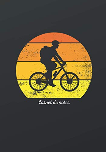 Carnet de notes pour un passionné de Vélo: cadeau original et personnalisé, cahier parfait pour prise de notes, croquis, organiser, planifier