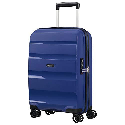American Tourister Bon Air DLX Maleta con 4 Ruedas Azul Oscuro 55 cm