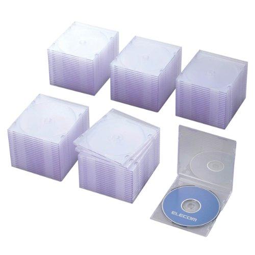 Blu-ray/DVD/CDケース スリム/PS/1枚収納 CCD-JSCS100