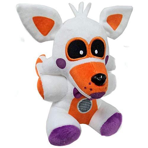 FNAF Plushies - Five Nights at Freddy's Plush: Chica, Bonnie, Springtrap, Foxy Plush, Marionette - Freddy Plush - FNAF Plush - FNAF Nightmare Plush - Kid's Toy-Stuffed Animal...- 8 Inch (Lolbit)