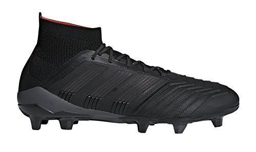 adidas Predator 18.1 FG Cleat Men's Soccer 8.5 Core Black-Real Coral