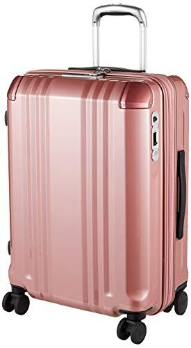 [エー・エル・アイ] スーツケース デカかる Edge 60.5 cm 3.8kg ピンクゴールド