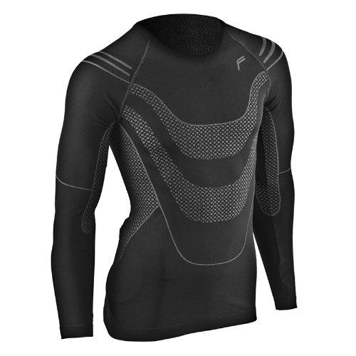 F-lite Body Megalight 200 Longshirt, Black, L