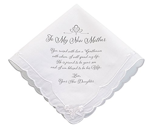 Lillian Rose New Mother verse Wedding Gift Hankie