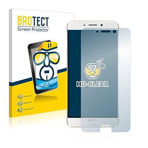 BROTECT Schutzfolie kompatibel mit Oppo F1 Plus (2 Stück) klare Bildschirmschutz-Folie