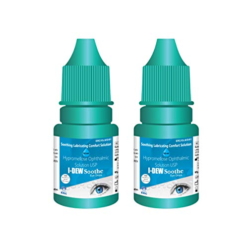 I-Dew Soothe Daytime Eye Drops for Dry Eyes, Drops for Contact Lens Users and Red Eyes DUO PACK