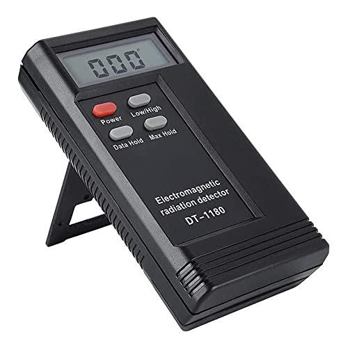 Rilevatore di radiazioni elettromagnetiche, rilevatore di frequenza a radio analizzatore di spettro, tester per radiazioni a doppia famiglia, DT-1180 (nessuna batteria)