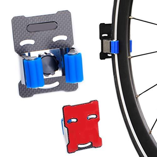 Kaycle Bicycle Parking Rack Portable Wall Hanger Indoor Vertical Bracket Hook Tire Clamp
