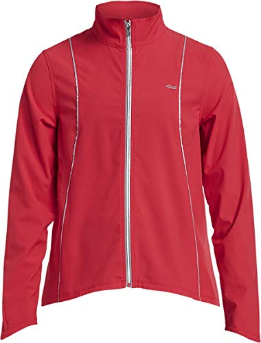Röhnisch - Chaqueta de running para mujer, talla XS, color rojo