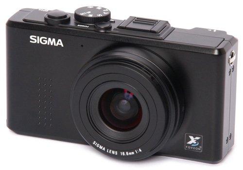 Sigma DP1x Kompakt-Digitalkamera (6,4 cm (2,5 Zoll) Display, 14 Megapixel, SD-Karte, 3X digi. Zoom, USB 2.0) schwarz
