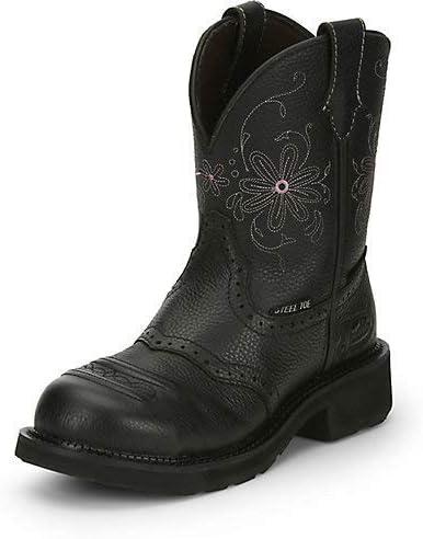 Justin Women's Wanette Western Work Boot Steel Toe - Gy9980