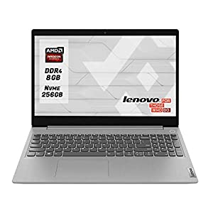 "Notebook Lenovo Ideapad Silver Pc portatile cpu Amd A4 3020 Display 15.6"" Ram 8Gb Ddr4 SSd M.2 256 Gb NVMe,Hdmi,Wi fi…"