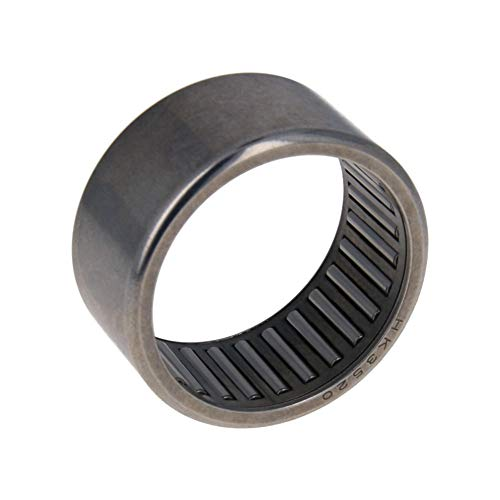 Othmro HK3520 Drawn Cup Needle Roller Bearings, Open End, 35mm Bore Dia, 42mm OD, 20mm Width Pack of 1