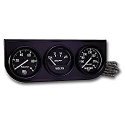 in budget affordable AUTO METER 2397 Autogage Black Console Oil / Bolt / Water Gauge, 2.3125 ""