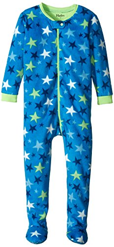 Hatley Little' Footed Fleece Coverall Stars