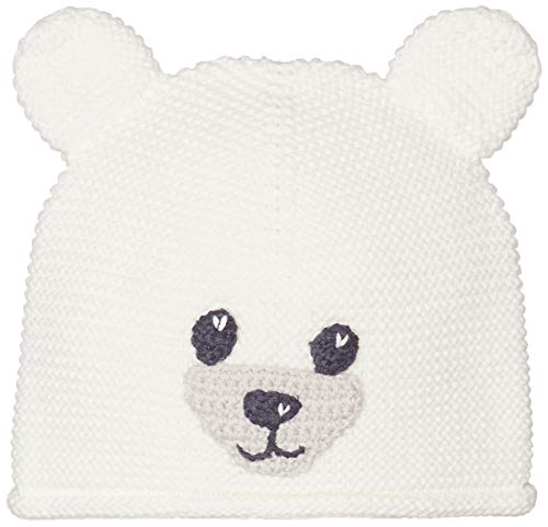 United Colors of Benetton Basic Bb3 Gorra Bebe, Blanco (Bianco Panna 074), 74/80 (Talla del Fabricante: 74) para Bebés