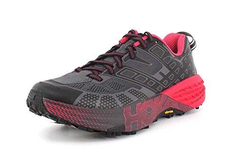HOKA Women's Speedgoat-2 Shoe for Trail Running on Treadmill