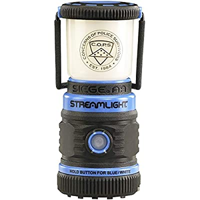 "Streamlight 44931 Siege Compact, Rugged 7.25"" Hand Lantern 540 Lumen Uses 3D Cell Alkaline Batteries - 540 Lumens"