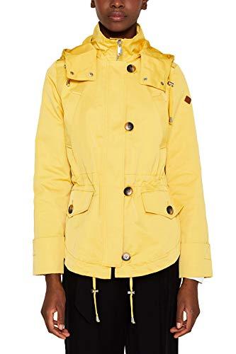 Esprit 029ee1g014 Chaqueta, Amarillo (Yellow 750), Medium para Mujer