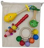 Gerileo Cesto de los Tesoros Montessori Musical con Bolsa de
