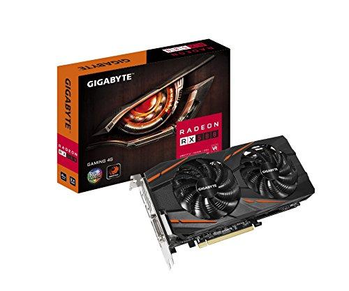 Gigabyte Radeon RX 580 Gaming Grafikkarte, 4 GB, GV-RX580GAMING-4GD