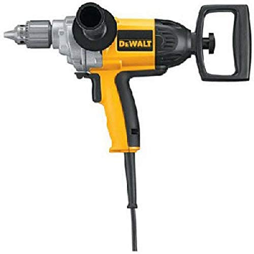 DEWALT Electric Drill, Spade Handle, 1/2-Inch, 9-Amp (DW130V),yellow/black,Large
