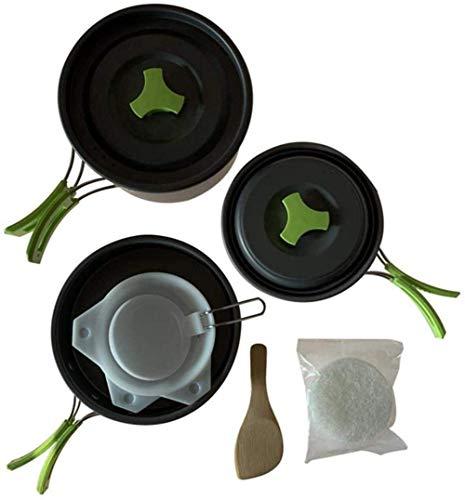 XHLLX Estufas para Acampar, Kochkit Portátil para Cocinar Al Aire Libre, Pesca Al Aire Libre Cocina Cambueba